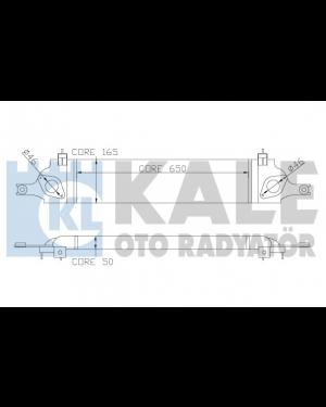 Nıssan  QashQaı 1.5  Dcı 07-> Intercoler radyator 14461-BB30A