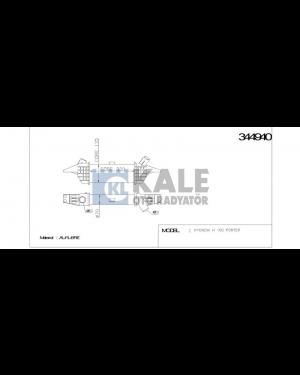 Hyundai H100 Kmyt 04> Intercoller Radyatoru
