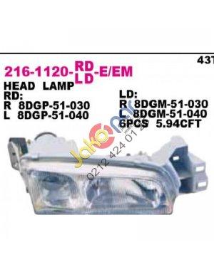 626 1992-1997 Far SAĞ