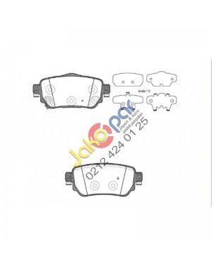 Nissan QASHQAI Arka Fren Balatası 2014-2015