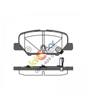 Mazda 6 Arka Fren Balatası 2013-