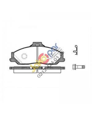 Mazda B2500 BT56 4wd Ön Fren Balatası 2006-2011