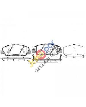 Hyundai Santafe Ön Fren Balatası 2006-2010