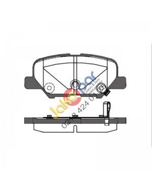 Mazda-6 Arka Fren Balatası 2013-2016