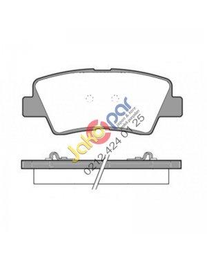 Toyota Aurıs 1.2 1.6 1.8 HYBRID Arka Fren Balatası 2012-