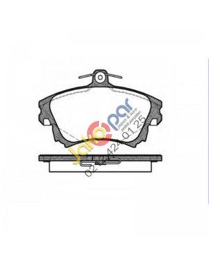 Mitsubishi Colt Ön Fren Balatası 1.5- 2004-2010
