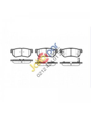 Hyundai Tucson Arka Fren Balatası 2004-2010