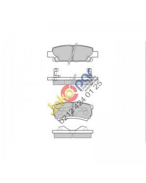 Mitsubishi Lancer Arka Fren Balatası 2003-2011