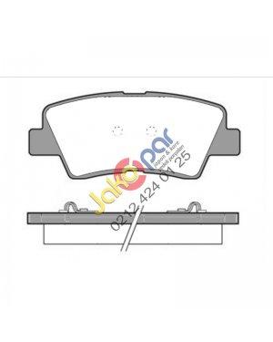 Toyota Auris 1.2 1.6 .18 Hybrıd Arka  Fren Balatası Full Sekmanlı 2012-