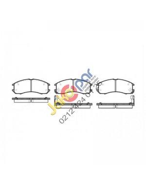 Mazda 626 Ön Fren Balatası 1988-1991