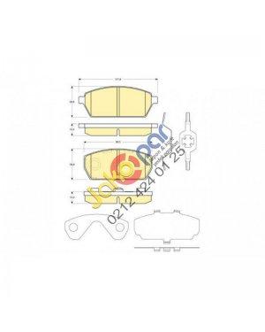 Suzuki Carry Sk410 Ön Fren Balatası 1986-2000