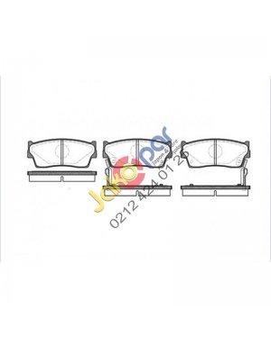 Suzuki Vitara Ön Fren Balatası 1990-1998 (3kapı)