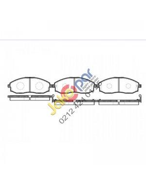 Hyundai H100 Kamyonet On Fren Balatası  2004-2012