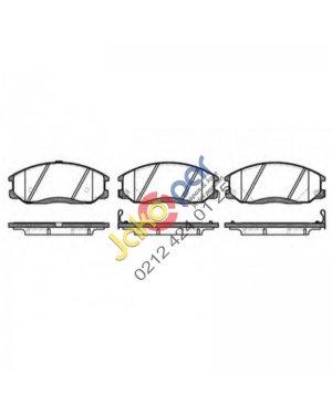 Hyundai Sanyong Actyon Sport Fren Balatası On